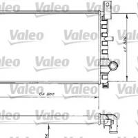 Radiador Refrigeración Ford Fiesta 89